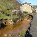 Brown Water Stream